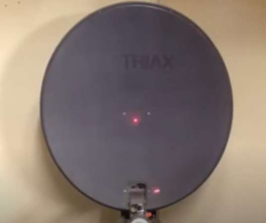 Triax td 64 офсетная спутниковая тарелка