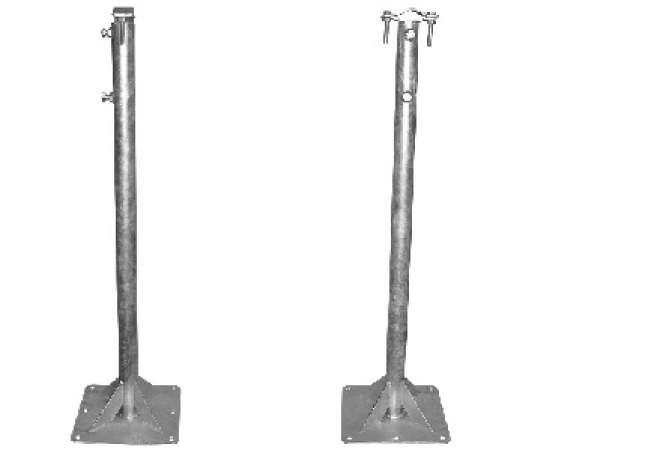 Выносы оцинкованные для мачты 0,8-1,5 метров